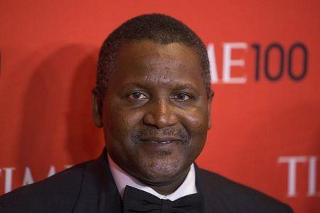 Africa's richest man, Nigeria's Dangote, plans cement plant in Zimbabwe