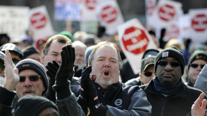 Unions shift political might to state, local races