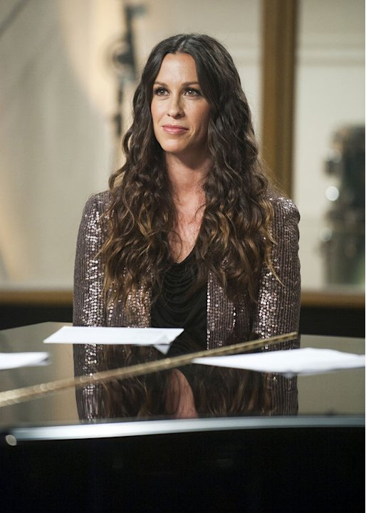 "Alanis Morissette is a mentor on the second season of ""The Voice."""