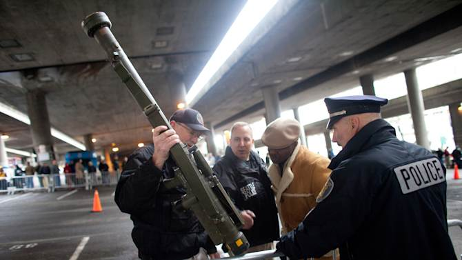 Missile launcher shows up at Seattle gun buyback
