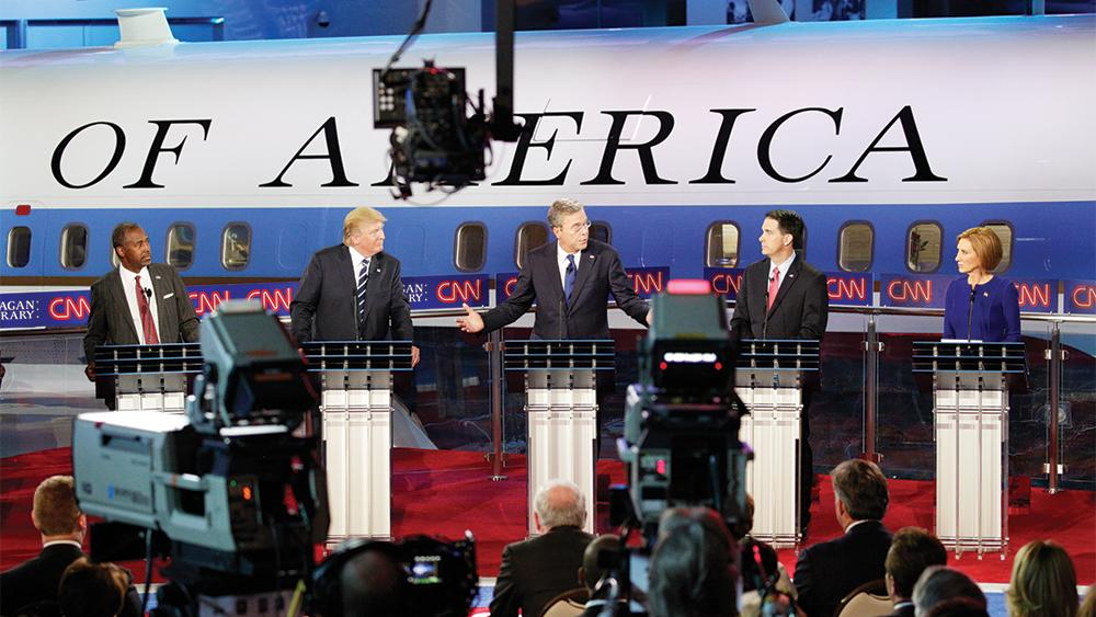 News Networks Eager to Light Political Fires in Presidential Campaign
