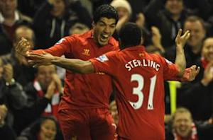 Liverpool 3-0 Sunderland: Suarez sparkles again for Rodgers' improving Reds