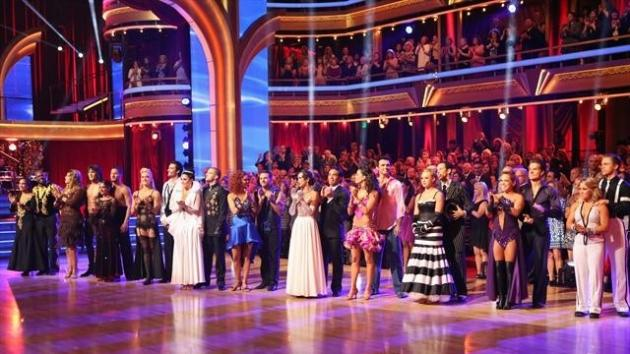The cast during Week 3 of 'Dancing With The Stars: All-Stars,' Oct. 8, 2012 -- ABC
