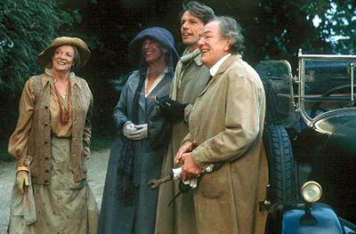 Maggie Smith , Jane Birkin , Lambert Wilson and Michael Gambon in Trimark's The Last September