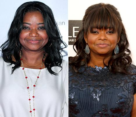Octavia Spencer Gets Bangs: Picture