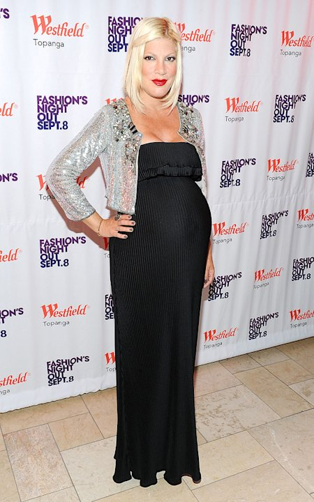 Tori Spelling Fashion Night Out