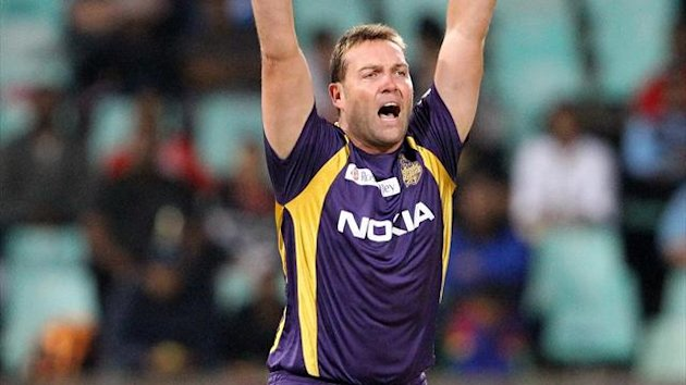 Jacques Kallis of the Kolkata Knight Riders (AFP)