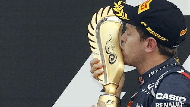 Vettel wins in Korea to take championship lead