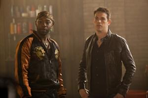 "Nelsan Ellis and Kevin Alejandro as Lafayette and Jesus in ""True Blood"" Season 4 -- HBO"