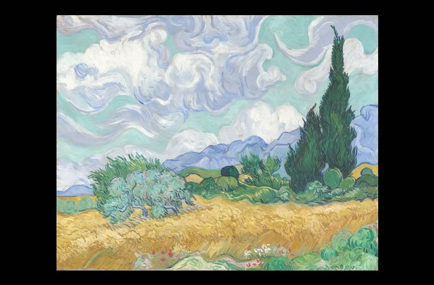 &amp;quot;A Wheatfield with Cypresses&amp;quot; by Vincent van Gogh, sold for $57 million in 1993.