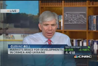 David Gregory: Putin not bending