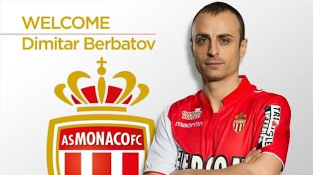 Dimitar Berbatov - new Monaco recruit (Pic: AS Monaco)