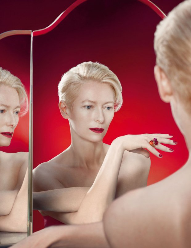 Rouge-Passion-Tilda-Swinton-for-Pomellato-by-Solve-Sundsbo-