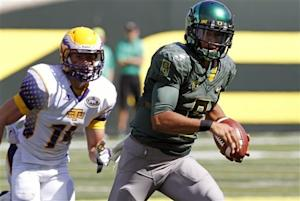 No. 4 Oregon defeats Tennessee Tech 63-14