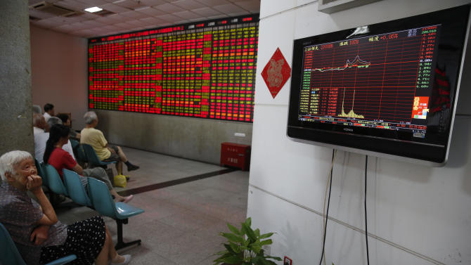Chinese regulators blame computer for stock frenzy