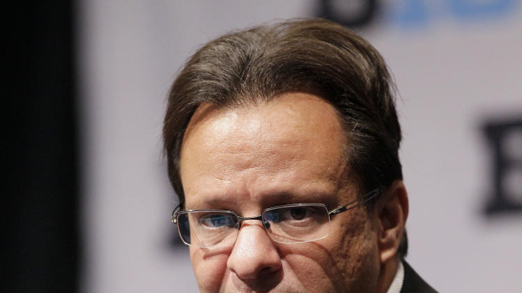 Indiana men's NCAA college basketball head coach Tom Crean speaks at Big Ten media day in Rosemont, Ill., Thursday, Oct. 25, 2012. (AP Photo/Nam Y. Huh)