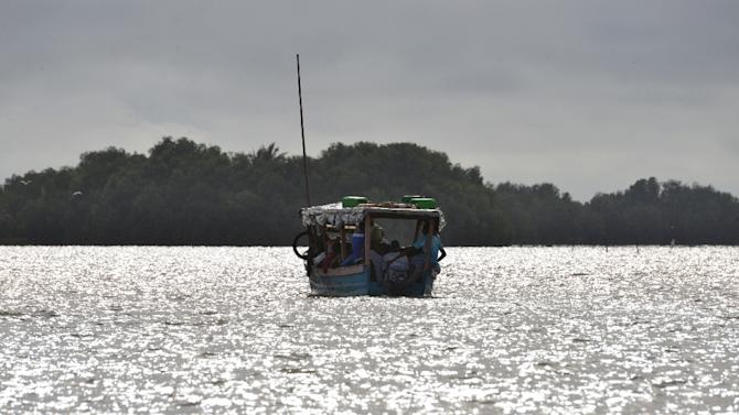 The fishermen set off from a Pacific Ocean port in northwestern Ecuador in late September