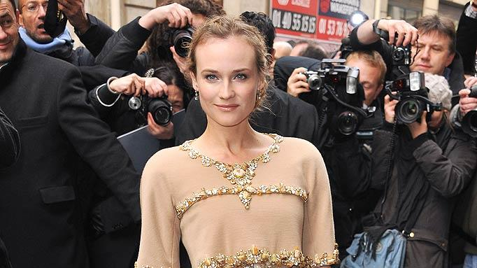 Diane Kruger Paris Fshn Week