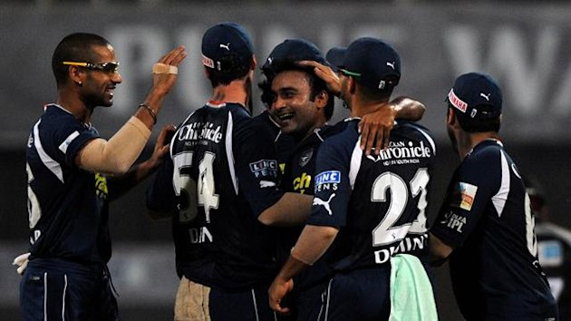 Deccan Chargers cricketers (AFP)