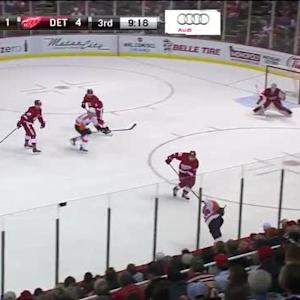Jimmy Howard Save on Michael Del Zotto (10:43/3rd)