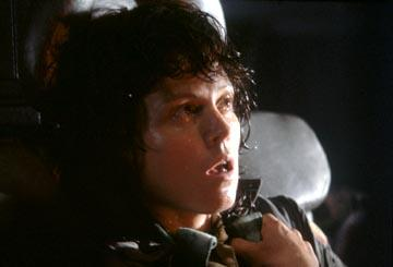 Sigourney Weaver as Ripley in 20th Century Fox's Alien
