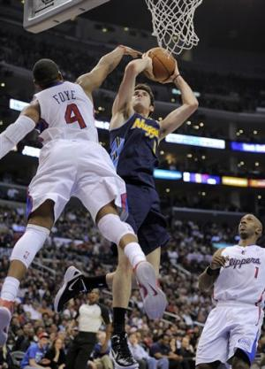 Nuggets beat Clippers 112-91 behind Gallinari's 21