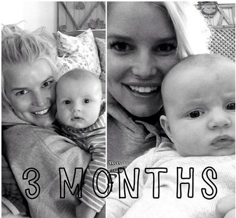 Jessica Simpson Shares Photo of Baby Ace at 3 Months: Picture