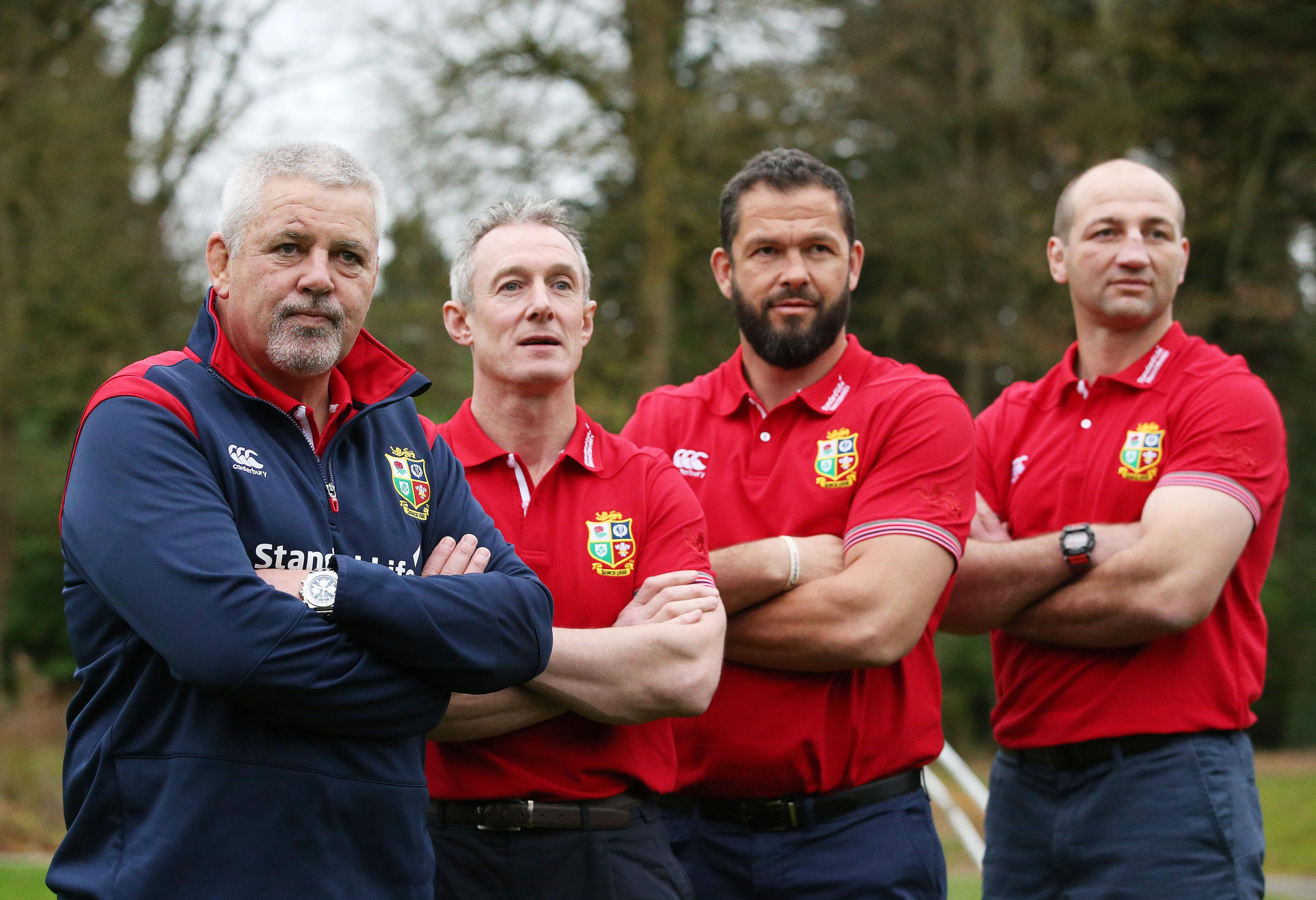 Borthwick, Farrell, Howley to help Gatland on '17 Lions tour