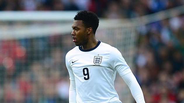 Daniel Sturridge in action for England (PA Photos)