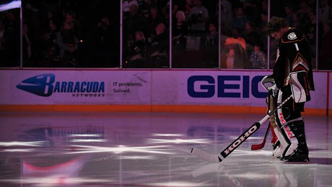 NHL: Edmonton Oilers at Anaheim Ducks