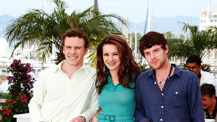2009 Cannes Film Festival Michael Fassbender Kierston Wareing Harry Treadaway Fish Tank Photocall