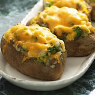 Loaded Twice-Baked Potatoes