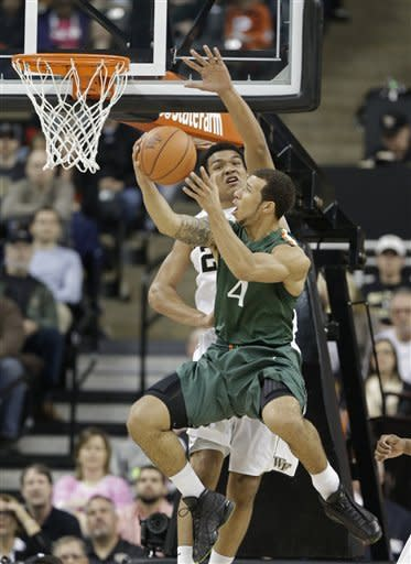 No. 2 Miami knocked off by Wake Forest 80-65