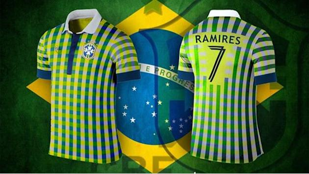 Football - The dream World Cup kits that have become a sensation