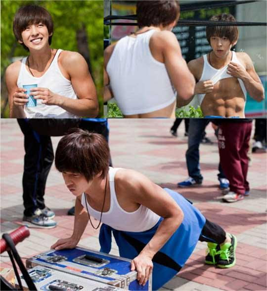 Kim Ki Bum Shows Off the Perfect Body