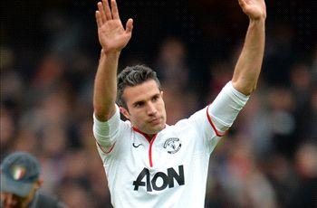 Van Persie: I was certain United would win trophies