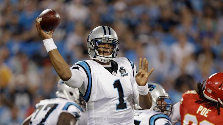 Panthers look to make history, repeat in NFC South