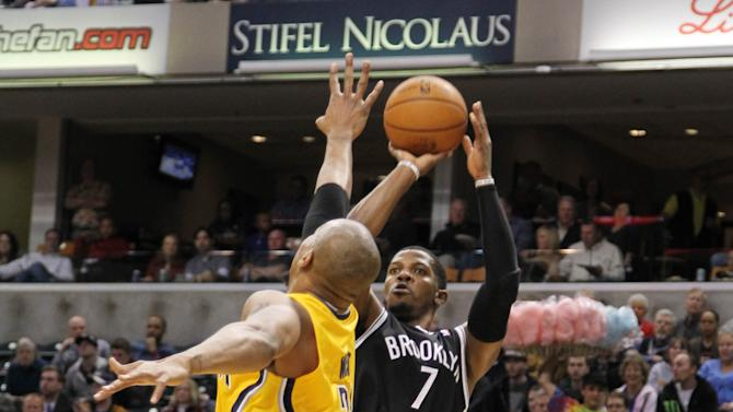 NBA: Brooklyn Nets at Indiana Pacers