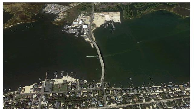 Mantoloking, N.J., before and after superstorm Sandy .