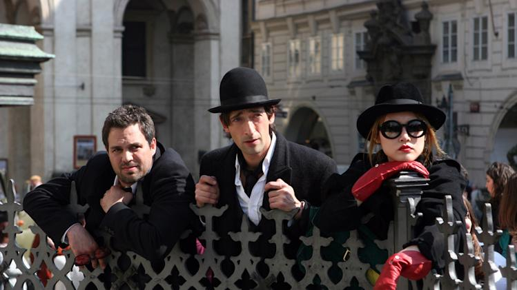 Mark Ruffalo Adrien Brody Rinko Kikuchi The Brothers Bloom Production Stills Summit 2009