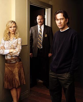 Kari Matchett as Claudia, Randy Quaid as Sikorski and Timothy Hutton as J.T.