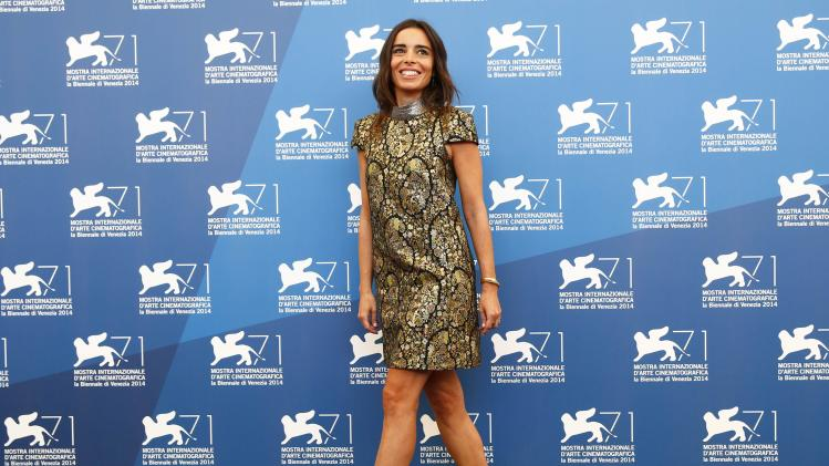 "Actress Bouchez poses during the photo call for the movie ""Reality"" at the 71st Venice Film Festival"