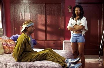 Jamie Kennedy and Regina Hall in Warner Brothers' Malibu's Most Wanted