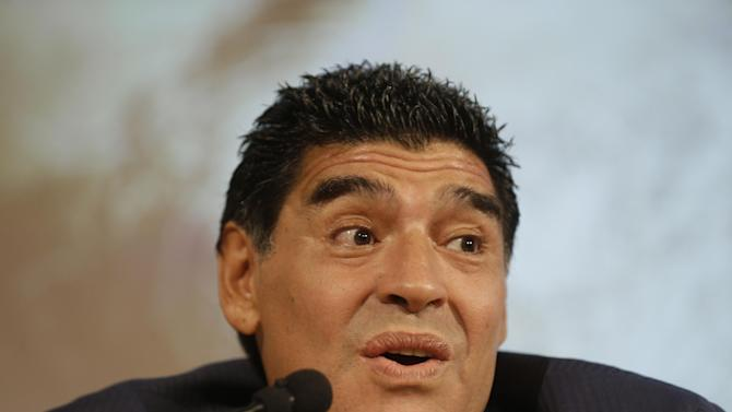 Maradona rips Argentina's World Cup performance