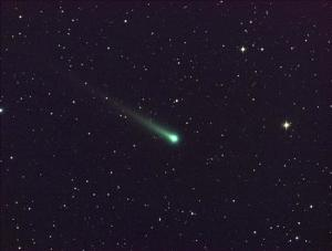 NASA MSFC handout shows Comet ISON in this five-minute exposure taken at NASA's Marshall Space Flight Center