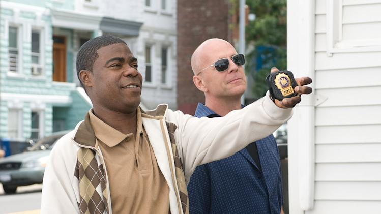 Cop Out 2010 Warner Brothers Production Photo Tracy Morgan Bruce Willis