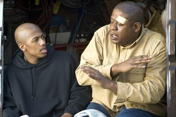 Nick Cannon and Forest Whitaker in Yari Film Group's Even Money