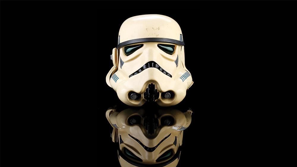 'Empire Strikes Back' Stormtrooper Helmet Fetches $120,000 at Auction