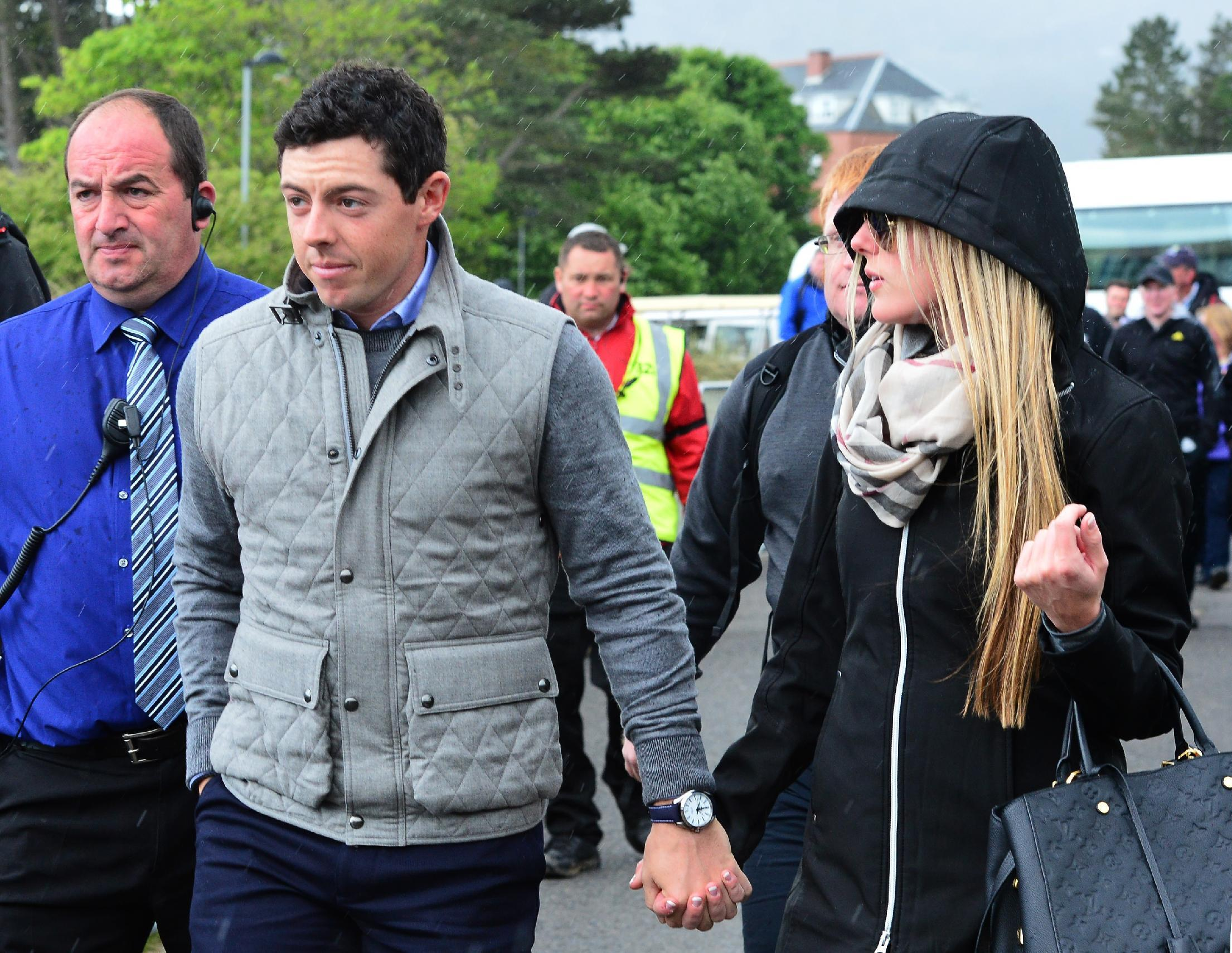 Rory McIlroy, girlfriend Erica Stoll appear together at Irish Open