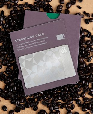 offering starbucks metal card gift card steel card continue reading
